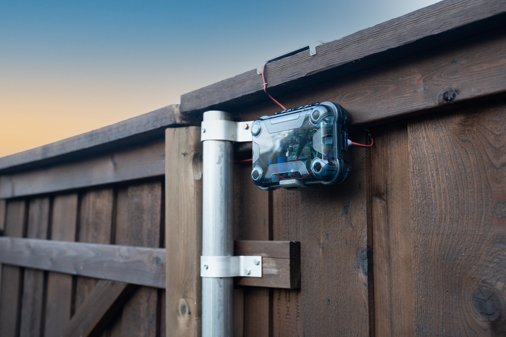 HomeKit Connected Fence Door Monitoring System